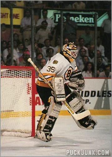 1990-91 Boston Bruins Andy Moog