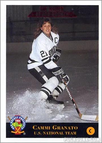 1993-94 Classic Pro Prospects card #248 - Cammi Granato