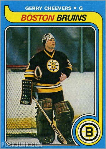 1979-80 Topps #85 - Gerry Cheevers