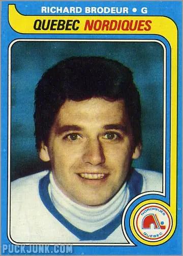 1979-80 Topps #176 - Richard Brodeur