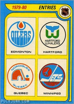 1979-80 Topps #261 - New NHL Entries