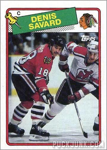 1988-89 Topps #26 - Denis Savard