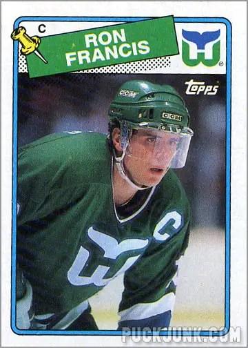 1988-89 Topps #52 - Ron Francis