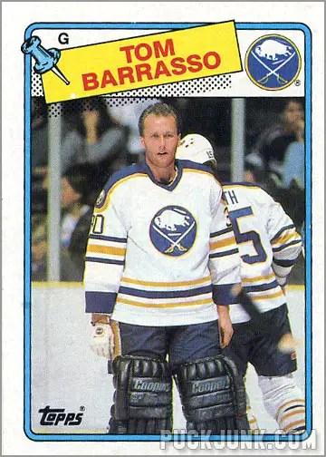 1988-89 Topps #107 - Tom Barrasso