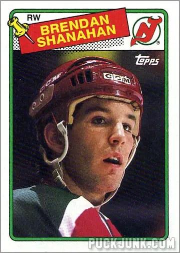 1988-89 Topps #122 - Brendan Shannahan