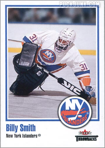 2002-03 Fleer Throwbacks #54 - Billy Smith