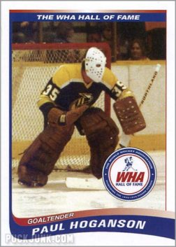 2010 WHA Hall of Fame #9 - Paul Hoganson