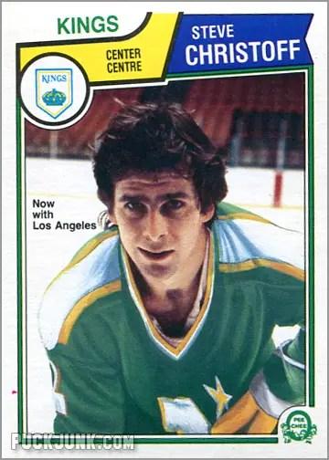 1983-84 O-Pee-Chee card #169 - Steve Christoff