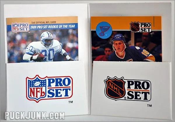 Brett Hull & Barry Sanders prototype cards