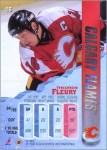 1995-96 Fleer Metal promo sheet