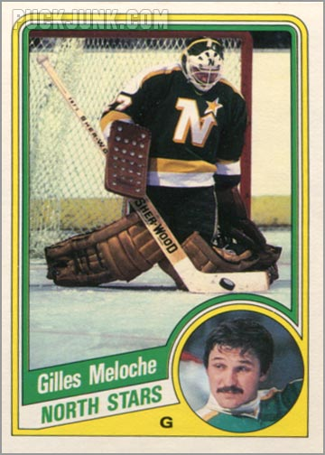 1984-85 OPC #104 - Gilles Meloche