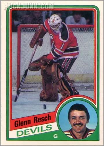 1984-85 OPC #119 - Glenn Resch