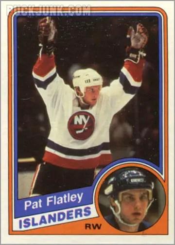 1984-85 OPC #124 - Pat Flatley