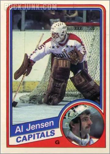 1984-85 OPC #201 - Al Jensen