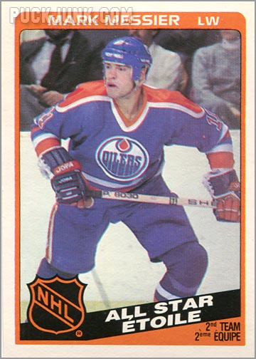 1984-85 OPC #213 - Mark Messier (All-Star)