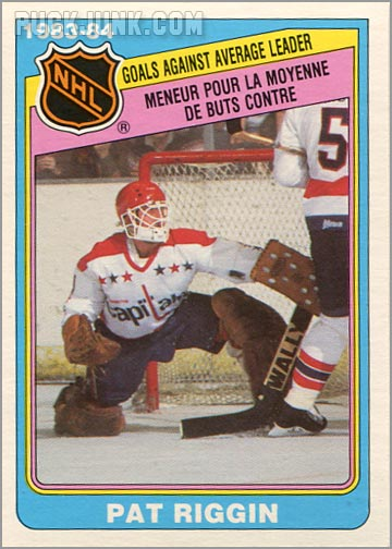 1984-85 OPC #368 - Goals Against Average Leaders