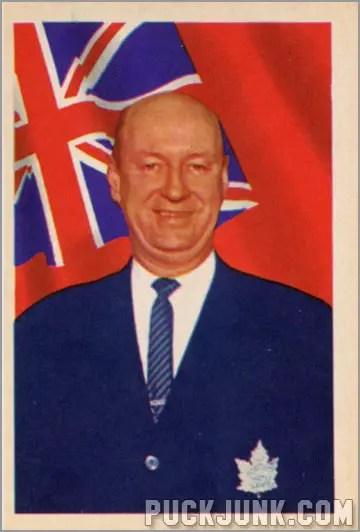 1963-64 Parkhurst #19 – George (Punch) Imlach