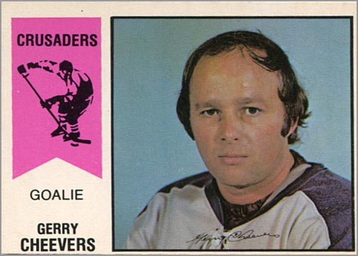 1974-75 OPC WHA #30 - Gerry Cheevers