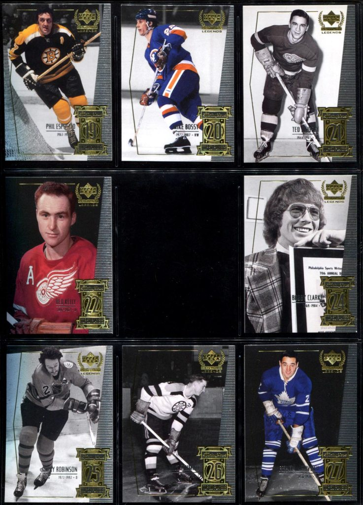 Lost Cards: 1999-2000 Upper Deck Century Legends #23 - Ken Dryden