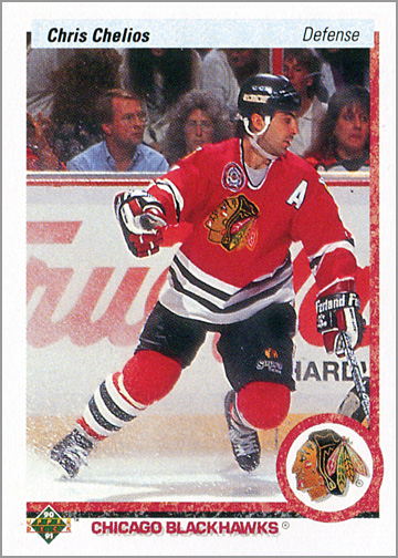 1990-91 Upper Deck Sheets - Campbell Conference (close up)