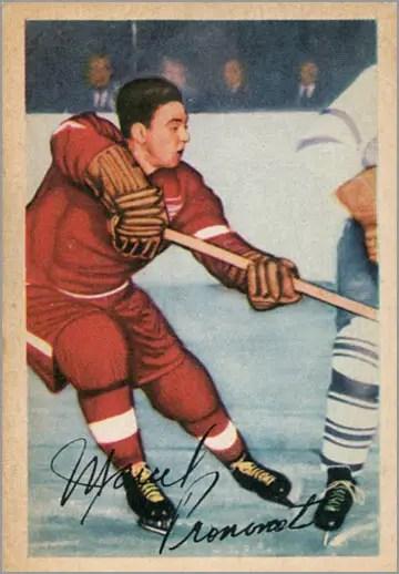 1953-54 Parkhurst #41 - Marcel Pronovost