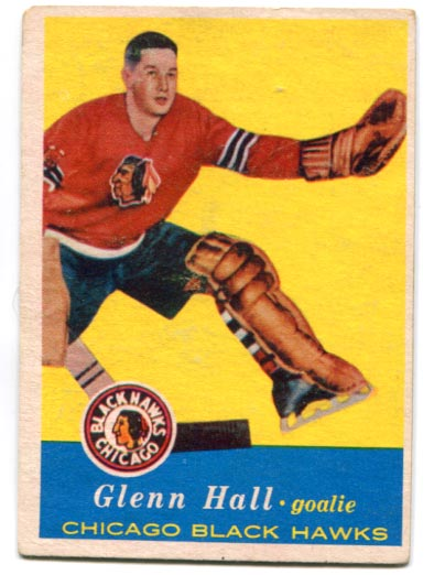 "1957-58 Topps ""Mr. Goalie"" Rookie Card"