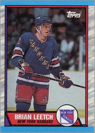 1989-90 Topps #136 - Brian Leetch