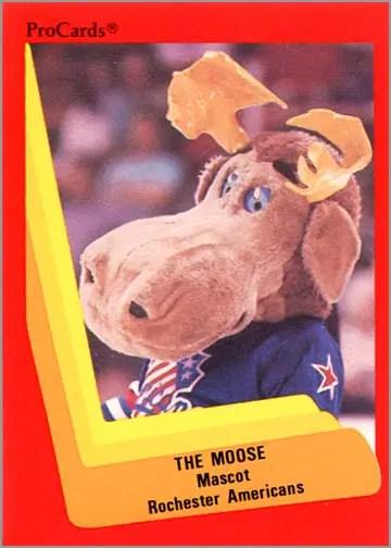 1990-91 ProCards AHL/IHL #294 - The Moose