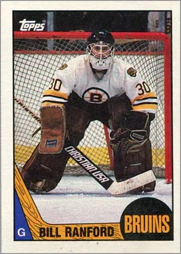 1987-88 Topps #13 - Bill Ranford