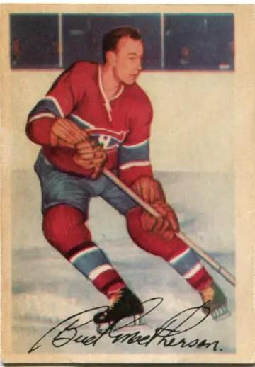 "1953-54 Parkhurst #22 - James ""Bud"" MacPherson"