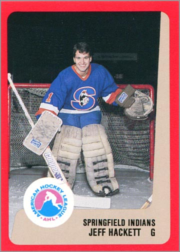 1988-89 ProCards AHL/IHL - Jeff Hackett