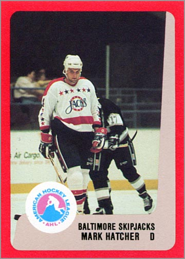 1988-89 ProCards AHL/IHL - Mark Hatcher