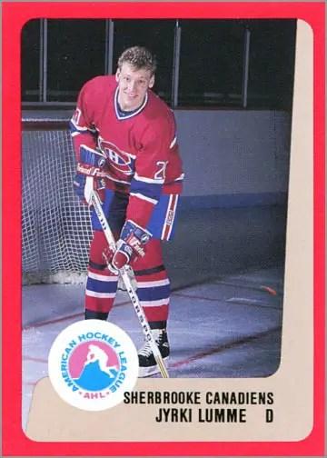 1988-89 ProCards AHL/IHL - Jyrki Lumme