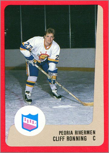 1988-89 ProCards AHL/IHL - Cliff Ronning