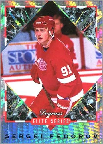 1993-94 Donruss Elite Series Inserts #U2 - Sergei Fedorov
