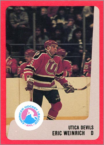 1988-89 ProCards AHL/IHL - Eric Weinrich