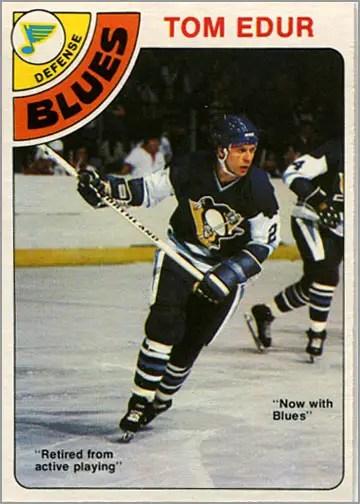 1978-79 O-Pee-Chee #119 - Tom Edur