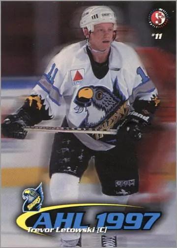 1997-987 Springfield Falcons - Trevor Letowski