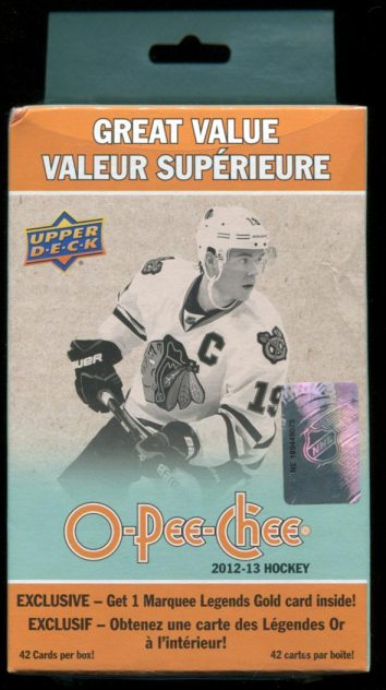 2012-13 O-Pee-Chee Fat Box