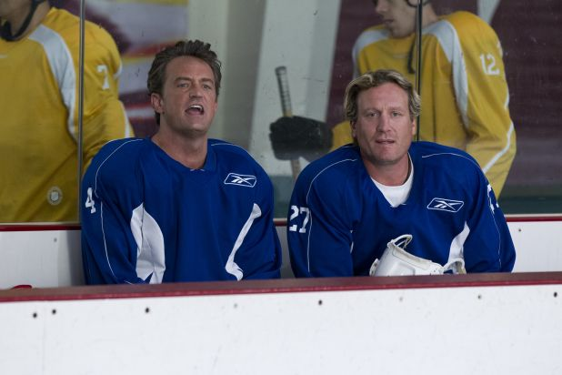Matthew Perry and Jeremy Roenick