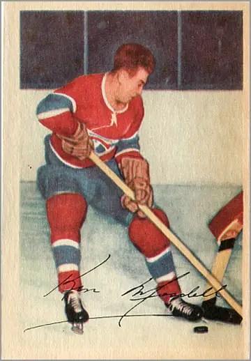 1953-54 Parkhurst #33 - Ken Mosdell