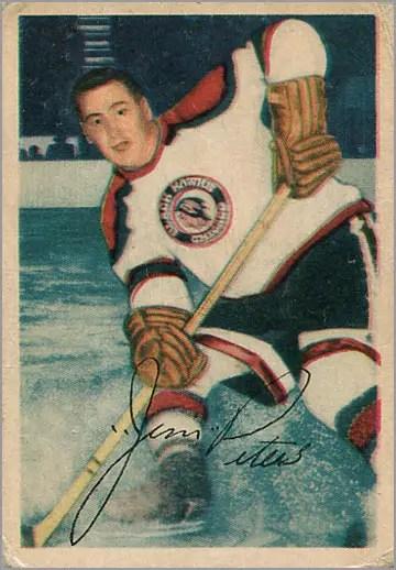 1953-54 Parkhurst #69 - Jim Peters