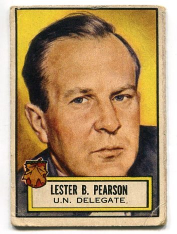 1952 Look N See #99 - Lester B. Pearson