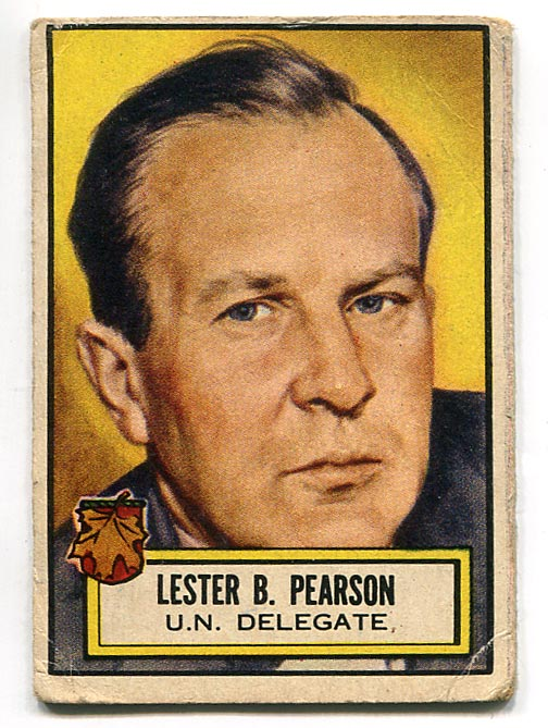 Card of the Week: Lester B. Pearson RC
