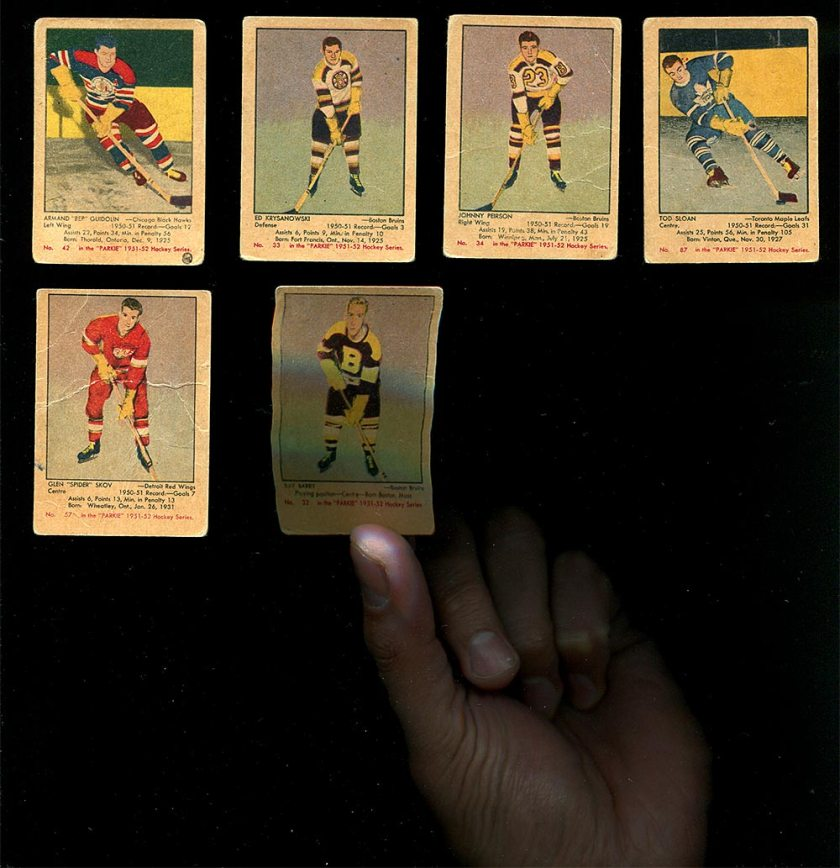 An Epic Haul of 1951-52 Parkhurst Cards