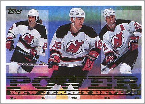 1994-95 Topps Power Lines #10 - New Jersey Devils