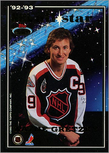 1993-94 Stadium Club All-Stars - Wayne Gretzky