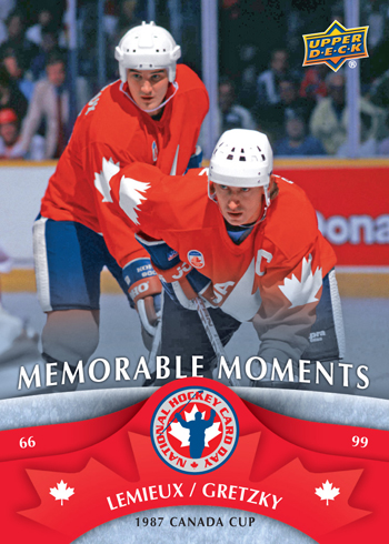 Mario Lemieux & Wayne Gretzky