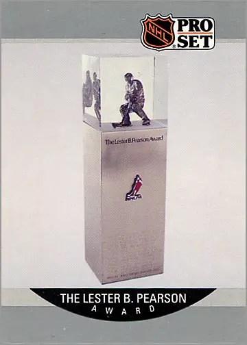 1990-91 Pro Set #386 - The Lester B. Pearson Trophy