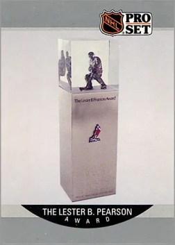 1990-91 Pro Set #386 - Lester B. Pearson Trophy